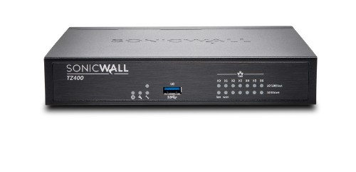SonicWall TZ400 hardware firewall 1300 Mbit/s