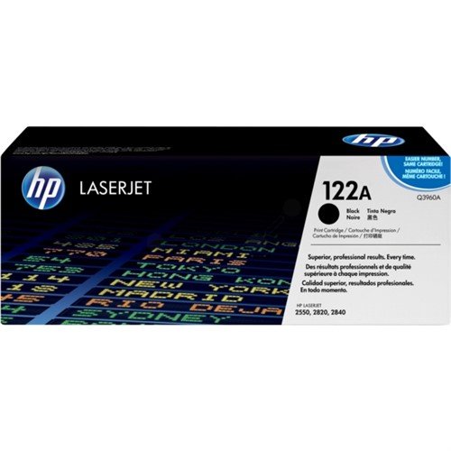 HP Toner Black 5000 Sheets for CLJ2550 - Q3960A