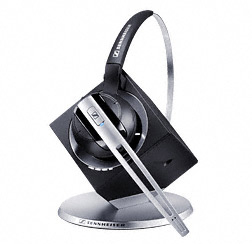 Wireless DECT DW Office/ DW 10 - CAT-iq Headset with Base Station For Desk Phone & PC