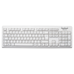 V7 USB Wired Keyboard - White - DE
