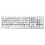 V7 USB Wired Keyboard - White - DE