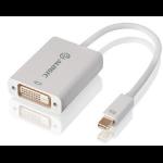 ALOGIC Premium 15cm Mini DisplayPort to DVI Adapter - Male to Female - WHITE