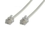 Microconnect RJ12/RJ12 10m White
