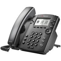 2200-48350-019 - Polycom VVX 311 Wired handset 6lines LCD Black IP phone