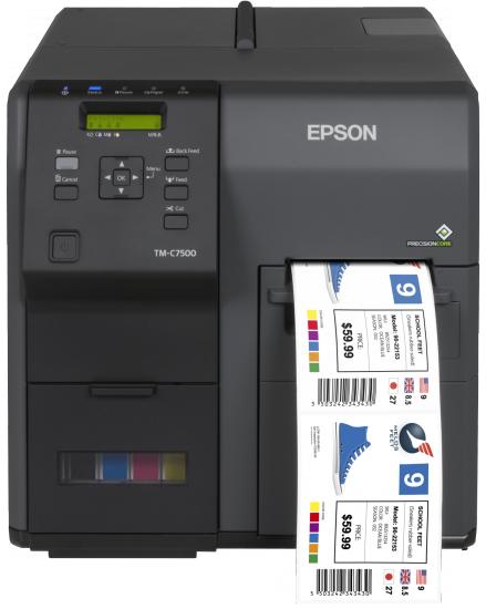 Epson ColorWorks C7500 labelprinter Inkjet Kleur 600 x 1200 DPI Bedraad