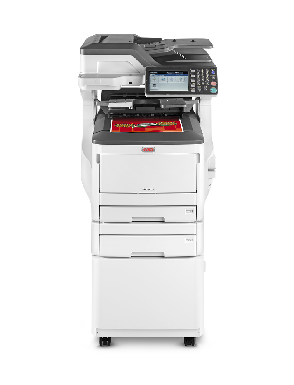 Mc873dnct - Color Multifunction Printer - LED - A3 - USB / Ethernet