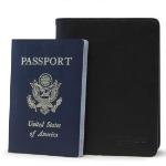 Mobile Edge I.D. Sentry Wallet Passport Black Leather