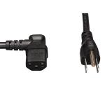 """Tripp Lite P006-006-13LA power cable Black 72"""" (1.83 m) NEMA 5-15P C13 coupler"""