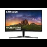 """Samsung C27JG50QQU 68.3 cm (26.9"""") 2560 x 1440 pixels Quad HD LED Silver"""