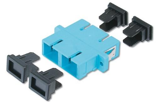 Digitus DN-96005-1 SC/SC 30pc(s) Turquoise fiber optic adapter