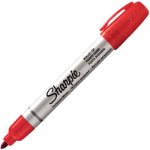 SHARPIE PRO METAL PERMANENT MARKER BULLET POINT RED