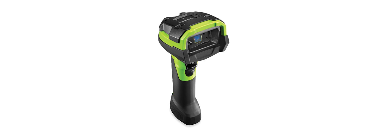 Zebra DS3608-ER Handheld 1D/2D Black,Green