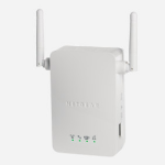 Netgear WN3000RP-200UKS Network transmitter & receiver White