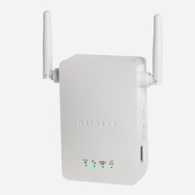 Netgear Universal WiFi Range Extender - WiFi Booster, 300 Mbps, White (WN3000RP-200UKS)