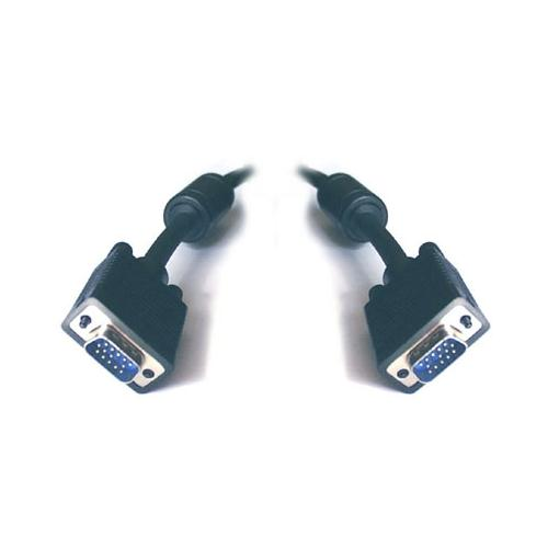 8WARE VGA Monitor Cable HD15M-HD15M with Filter UL Approved 2m