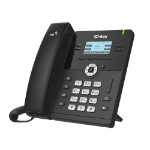 Htek UC912E Standard Business IP Phone, Wifi / Bluetooth, 4 Line Display, Gigabit Ethernet,  PSU included
