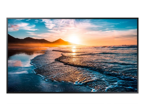 "Samsung QH65R 165.1 cm (65"") 4K Ultra HD Digital signage flat panel Black"