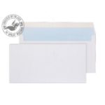 Blake Purely Everyday White Peel and Seal Wallet DL 110X220mm 100gsm (Pack 50)