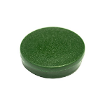 Bi-Office Round Magnets 10mm Green PK10