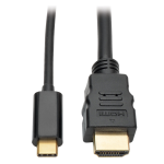 "Tripp Lite U444-003-H video cable adapter 35.4"" (0.9 m) USB C HDMI Black"