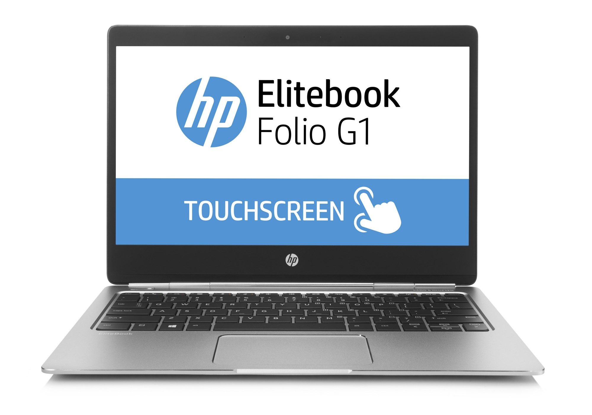 "HP EliteBook Folio G1 1.1GHz m5-6Y54 12.5"" 1920 x 1080pixels Silver Notebook"