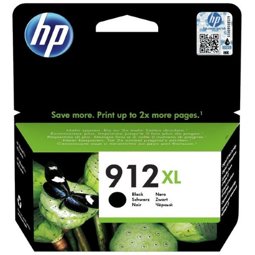 HP 3YL84AE (912XL) Ink cartridge black, 825 pages