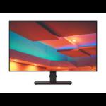 """Lenovo ThinkVision P27q-20 68.6 cm (27"""") 2560 x 1440 pixels Quad HD LED Black"""