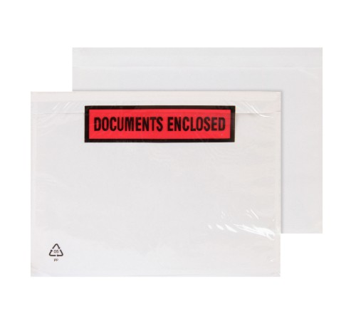 Blake Purely Packaging A6 168x126mm Printed Document Enclosed Wallet (Pack 1000)