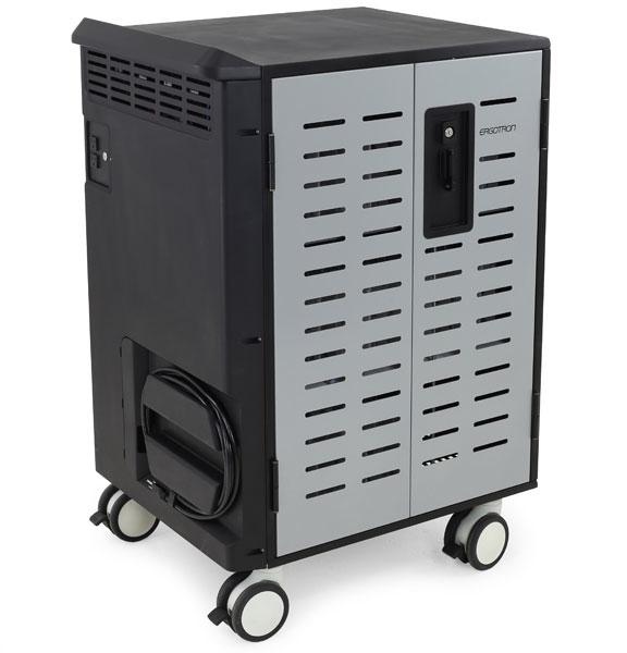 Ergotron DM40-1009-3 Portable device management cart Black,Grey