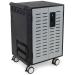 Ergotron DM40-1009-3 Portable device management cart Black,Grey