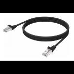 Vision TC-1MCAT6-BL Netzwerkkabel Schwarz 1 m Cat6 U/UTP (UTP)