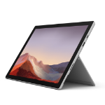 "Microsoft Surface Pro 7 256 GB 31.2 cm (12.3"") 10th gen Intel® Core™ i7 16 GB Wi-Fi 6 (802.11ax) Windows 10 Pro Platinum"