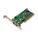Siig 3-Port FireWire PCI Card interface cards/adapter