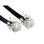 Cables Direct 88BCD-102K telephone cable 2 m Black