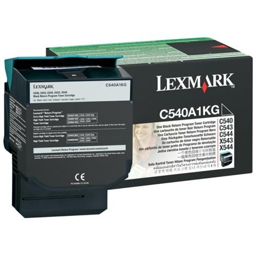 Lexmark C540A1KG Toner black, 1000 pages