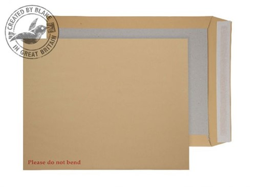 Blake Purely Packaging Board Back Pocket Peel and Seal Manilla 120gsm C3 444×368 (Pk 100)