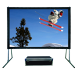 Sapphire SFFS203RP-WSF 16:9 Black projection screen