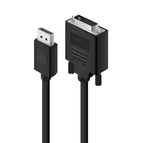 ALOGIC 2m DisplayPort to DVI Cable - Male to Male - ELEMENTS Series