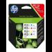 HP Pachet cu 4 cartuşe de cerneală originale 932XL Negru / 933XL Cyan/Magenta/Galben Original Negro, Cian, Magenta, Amarillo 4 pieza(s)
