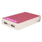 Urban Factory BAB41UF Lithium Polymer (LiPo) 4200mAh Pink power bank