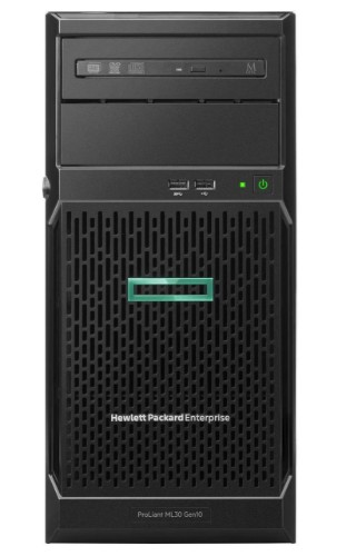 Hewlett Packard Enterprise ProLiant ML30 Gen10 server Intel Xeon E 3.4 GHz 16 GB DDR4-SDRAM 16 TB Tower (4U) 500 W