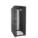 Vertiv VR3350 rack cabinet 42U Freestanding rack Black, Transparent