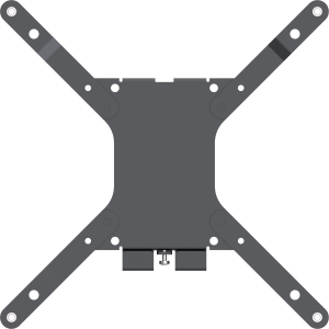 "Vision VFM-W2X2 50"" Black flat panel wall mount"