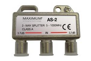 Maximum AS-2 Cable splitter Metallic
