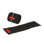 M-Cab 7200462 cable tie Velcro strap cable tie Black, Red