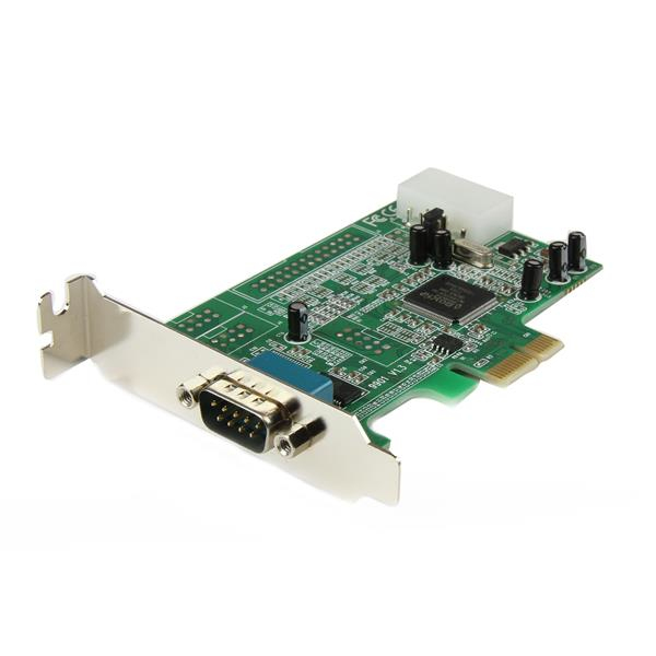 StarTech.com 1 Port Low Profile Native RS232 PCI Express Serial Card with 16550 UART PEX1S553LP