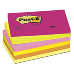 Post-It 655TF Warm Neon Rainbow self-adhesive label 100 pc(s)