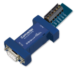 IMC Networks 422PP9TB serial converter/repeater/isolator RS-232 RS-422 Blue