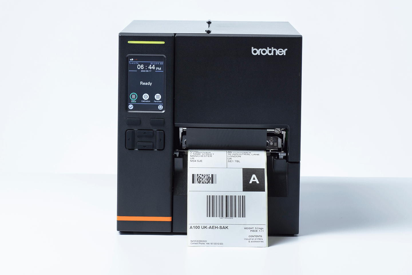 Brother TJ-4021TN label printer Direct thermal / Thermal transfer 203 x 203 DPI Wired