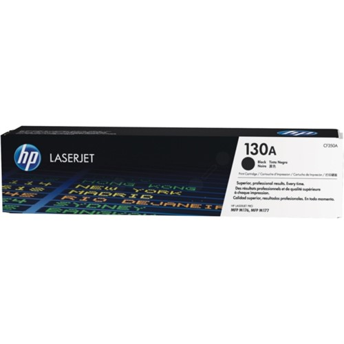 HP CF350A 130A Laser Toner Cartridge black 1,300 pages